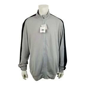 PUMA Golf Jacket Full Zip Warm Cell Gray Black NWT Mens 3XL