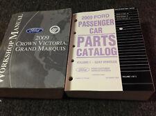 2009 FORD CROWN VICTORIA & MERCURY GRAND MARQUIS Service Shop Repair Manual