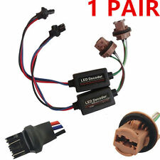 2 T20 7443 Socket Warning Error Canceller Error Free Load Resistor LED Decoder T