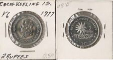 KEELING COCOS  ISLANDS 2 rupees 1977 UNC!!! Rare!!!! John Clunies Ross