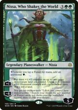 MTG 1x Foil NISSA, WHO SHAKES THE WORLD (Promo Pack) War of the Spark NEW