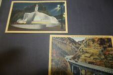 Postcards On the Ridge Route Cut Off Los Angeles & Entrance to Hollywood Bowl