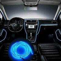 2m LED Filo Neon Stringa Interno Auto Luce Striscia Decor luce neon al LED