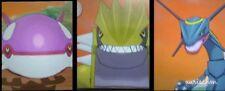 Pokemon shiny legendary Groudon Kyogre Rayquaza lvl 100 Ultra Sun Moon DS trade