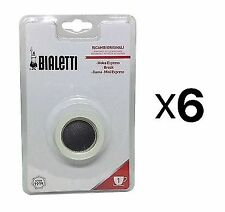 Bialetti 1 Cup Stovetop Moka Express Replacement Gasket Seal Filter Rubber