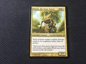 Doran, the Siege Tower Lorwyn Multicolour Treefolk MTG Magic the Gathering Card