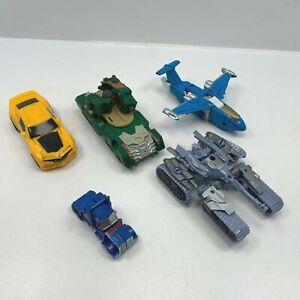 Transformers Mixed Joblot Bundle Broken toys inc Overcast Bumblebee PLEASE READ