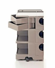 JOE COLOMBO BOBY TROLLEY B32 NEW COLOR CUMIN STORAGE B-LINE made in Italy
