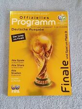 2006 - OFFICIAL WORLD CUP FINAL PROGRAMME - GERMAN LANGUAGE EDITION