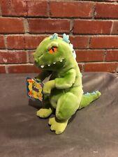 Vintage Reptar Rugrats Dinosaur Plush Stuffed Animal Applause Nickelodeon 1997