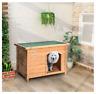 Medium Dog Kennel Solid Wooden Outdoor/Indoor Dog/Pet House Garden Crate
