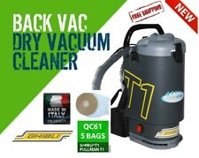 Ghibli T1v3 +5 Bag Free Postage Backpack Vacuum Cleaner Charcoal - Made in Italy