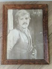 Framed Picture Robert Redford Butch Cassidy and & the Sundance Kid Sepia Western