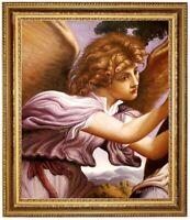 Ölbild der Engel, Lorenzo Lotto Ölgemälde HANDGEMALT, Gemälde 50x60cm