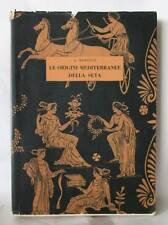 Bamonte LE ORIGINI MEDITERRANEE DELLA SETA libro raro storia Grecia Roma