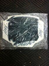 Old School BMX Cassap MINI Plate BLACK/WHITE/GREY (NOS)