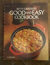 Betty Crocker's Vintage Cookbook, Good and Easy - 1978 11th printing Clean 1970s