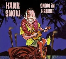 Snow in Hawaii Compilation by Hank Snow New CD 2008 Bear Family Records Germany