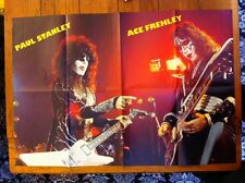 KISS Ace Frehley and Paul Stanley 8 page concert poster