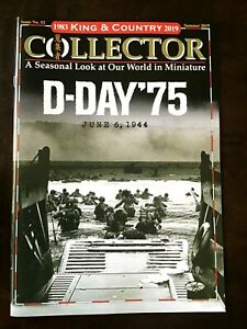 King and Country Collector Toy Soldier brochure. Issue 52 Summer, 2019