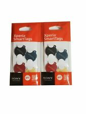 Sony Xperia NFC SmartTags Set of 4 colors for Android Smart Tag 2 Pack