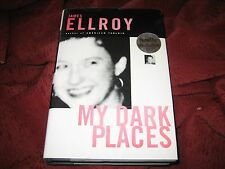 My Dark Places : A L.A. Crime Memoir by James Ellroy (1996, Hardcover) SIGNED