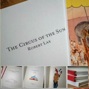 ROBERT LAX - THE CIRCUS OF THE SUN - NEW EDITION OF 1959 POETRY MASTERPIECE