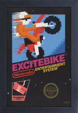 NINTENDO EXCITE BIKE VIDEO GAME COVER 13x19 FRAMED GELCOAT POSTER CLASSIC ICONIC
