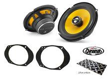"""Ford Focus Mk1 RS 6.5"""" Altavoz De La Puerta Delantera Kit de actualización de JL Audio Dynamat"""