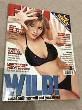 *LISA FAULKNER KELLY RUTHERFORD - BRIAN LARA JANE LEEVES FHM MAGAZINE JAN 1999*
