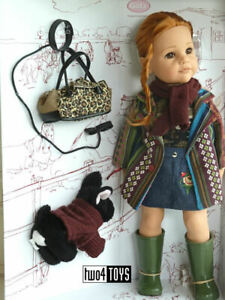 2020 Gotz HANNAH AND HER DOG PLAY DOLL - 50 cm / 19.8in. - NRFB