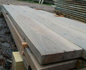 Eiche 20x4cm Kantholz Pfosten Pfahl Bohle Balken mehrstielig  Fixlängen bis 4m