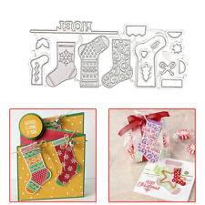 New listing 1Set Christmas Sock Metal Cutting Die For Scrapbooking Stocking Cutter Stencil S