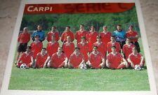 FIGURINA CALCIO 99 MERLIN'S CARPI SQUADRA ALBUM MERLIN