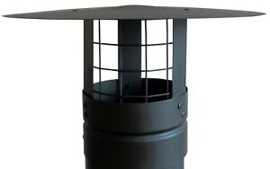Chimney Cowl With BIrd Guard ,Chimney Cap , Flue Pipe Cowl,4'',5'',6'',7'',8''