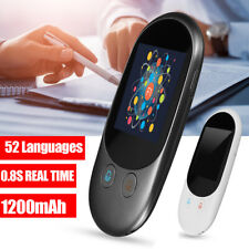 2.4inch 52 Language Smart Voice Instant Translator bluetooth Meeting   z