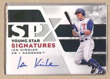 Ian Kinsler YSS-IK 2008 SPx Young Star Signatures Autograph Auto Silver