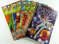 Marvel DAZZLER (1981) #1 3 4 6 7 13 15 16 UNGRADED Reader Lot Ships FREE