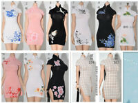 1:6 ZOEDOLL Female Sexy Cheongsam Skirt Dress Clothes Fit 12'' PH TBL JO Doll