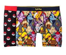 Brand New Men's Pokemon Boxer Briefs 1 (2pk) Medium *Free Shipping*