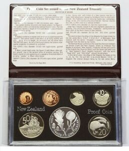 New Zealand - 1981 - Silver Proof Coin Set --   Royal Visit