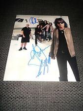 EUROPE Joey Tempest signed Autogramme auf 20x25 cm Foto InPerson LOOK