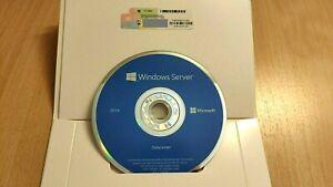 Windows Server 2016 Datacenter 16 Core 64-Bit  License COA Sticker DVD