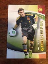 2014 Futera World Football Soccer Card - Spain IKER CASILLAS Mint