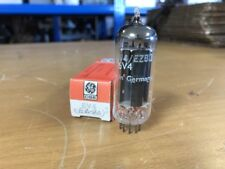 1 NOS GE General Electric Germany 6V4 EZ80 Vacuum Tube Tested Guaranteed!