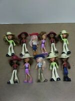 MINI BRATZ DOLLS LOT OF 11 MCDONALD'S 2003