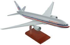 American Airlines Boeing 777-200 Old Livery Desk Display Model 1/100 ES Airplane