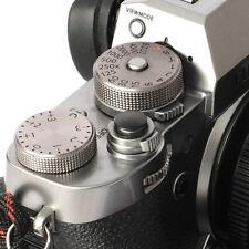Selens Shutter Button Soft Release Metal Convex Black Fuji XT3 X-Pro1 X-Pro3