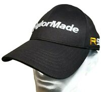 TaylorMade Burner R9 Golf Hat Cap Black Structured Polyester Weave Low Profile