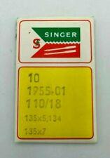 Groz-Beckert 134 S Pfx134 Ks aghi per cucire pelle 100 pezzi 18//110